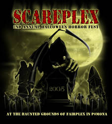 scareplex halloween art 2005