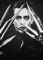 Johnny_Scissor_Hands by YourNewGod