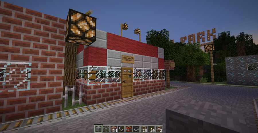 my minecraft cvs pharmacy by mrkuraiman on deviantart