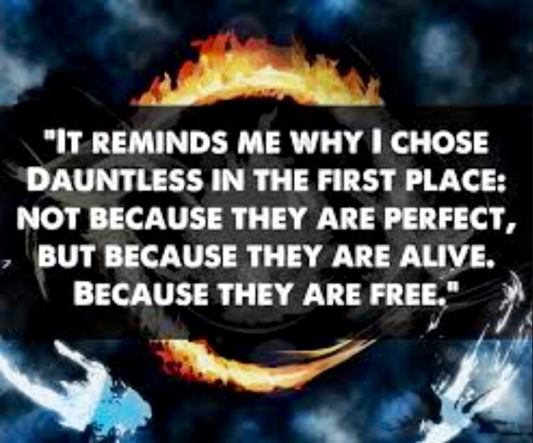 Divergent quote by PiperLN on DeviantArt