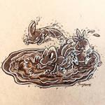 Inktober Day 23: Muddy by joceysketchz