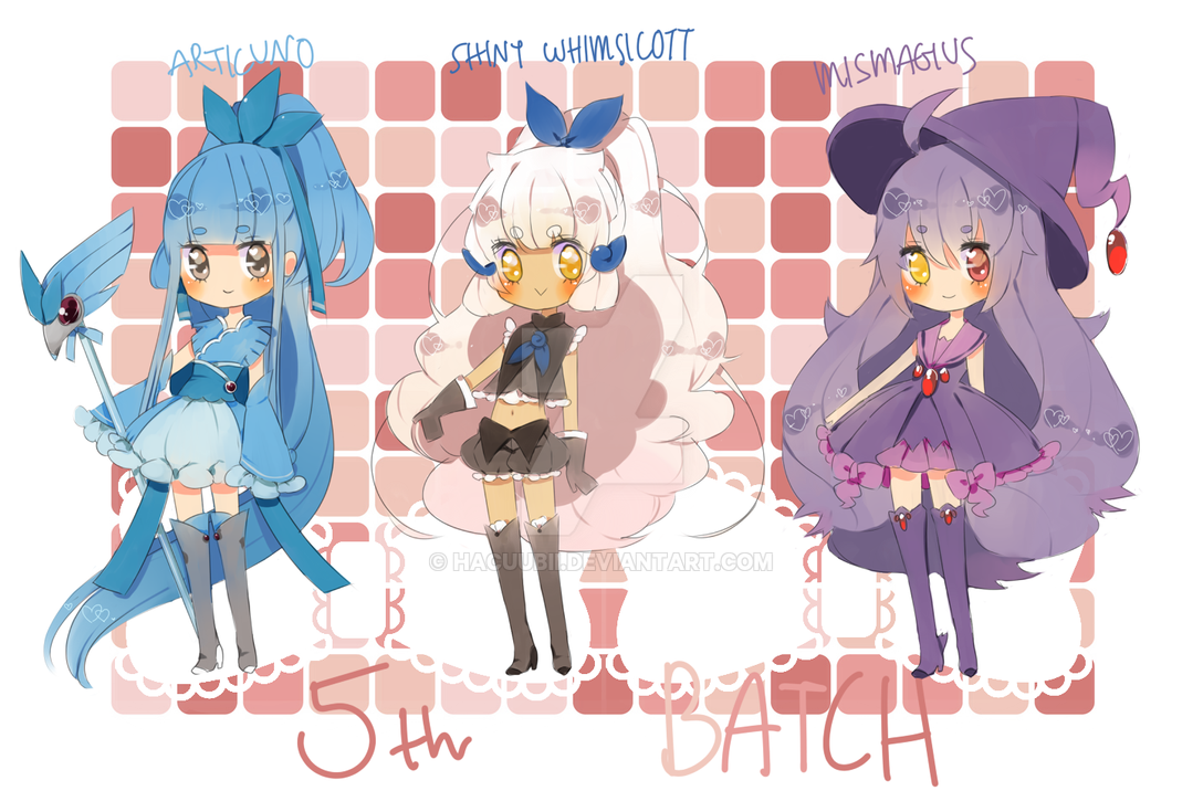 5th Batch by Hacuubii