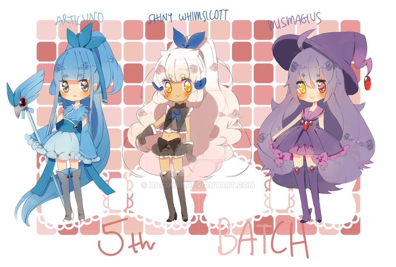 5th Batch by Hacuubii