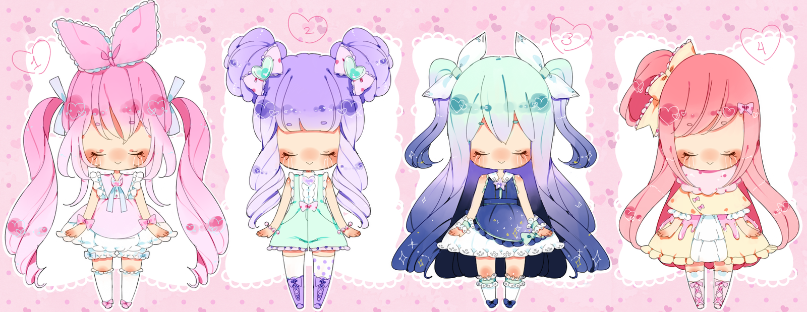 BiiaBabies Adopts! c l o s e d by Hacuubii