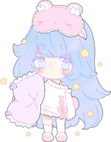 sweet dream lullaby adopt recolor   closed by Hacuubii
