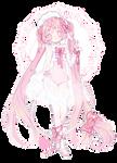 rose quartz qilin adoptable | closed