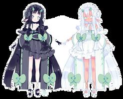jade twins qilin adoptable | closed