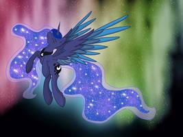 The Princesses of Equestria 1/4 : Luna by Caldercloud