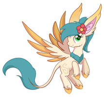 Ninfa Species Mascot by Caldercloud