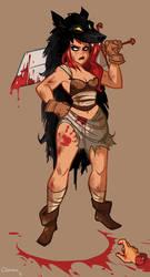 Warriorette by ClemCyza