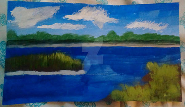 Landscape Demo Painting