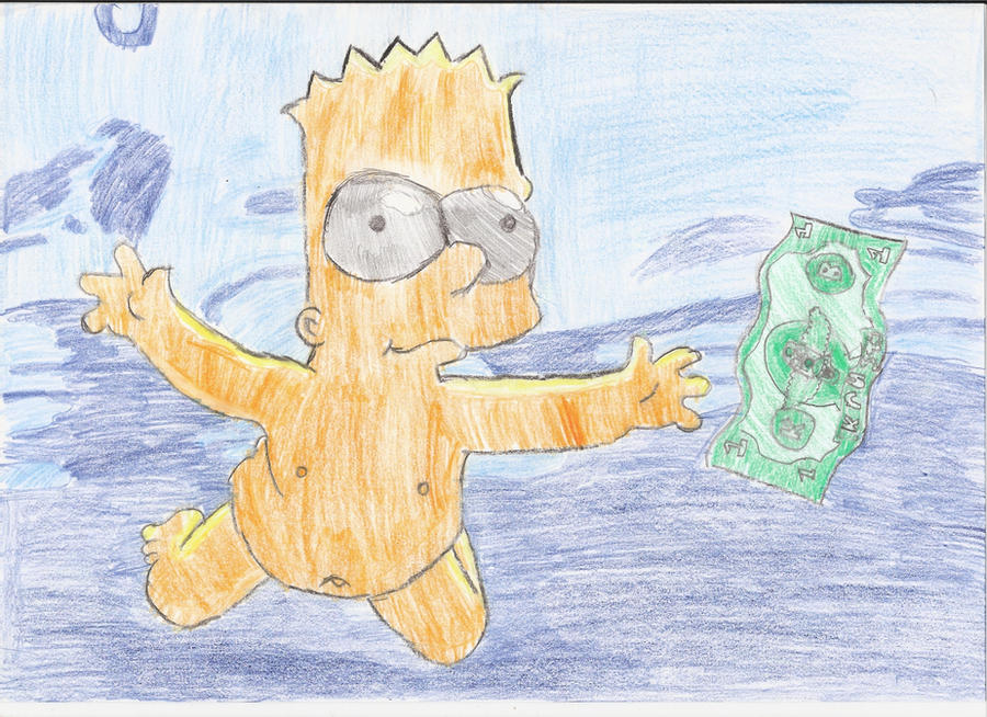 Bart Simpson Naked Swimming by ~wouterdlxl on deviantART