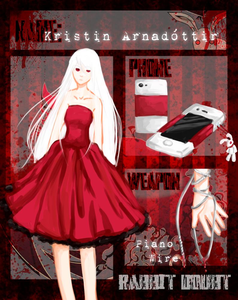 RD: Kristin Arnadottir App by PandaToffee