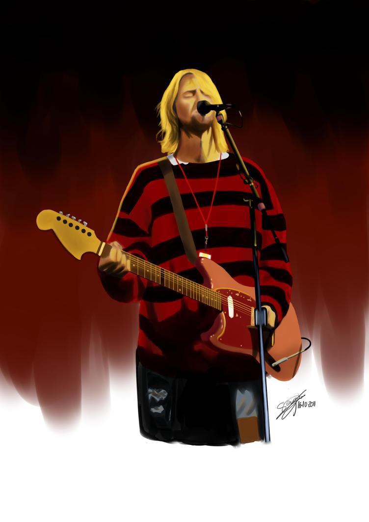 Kurt Cobain by Shyphex