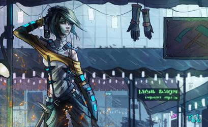 Armor Specialist by rhigu