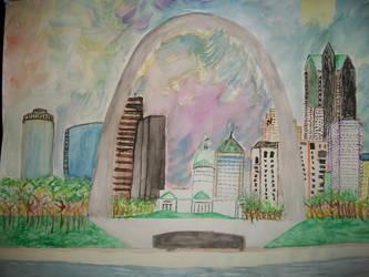 St. Louis, gateway to possibilities by DaktaFower