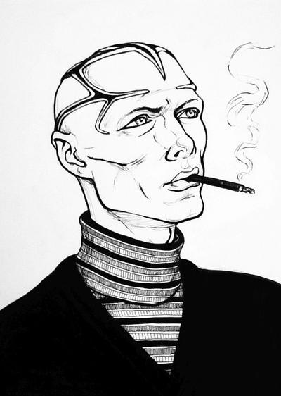 Smoking Requiem by Leonor