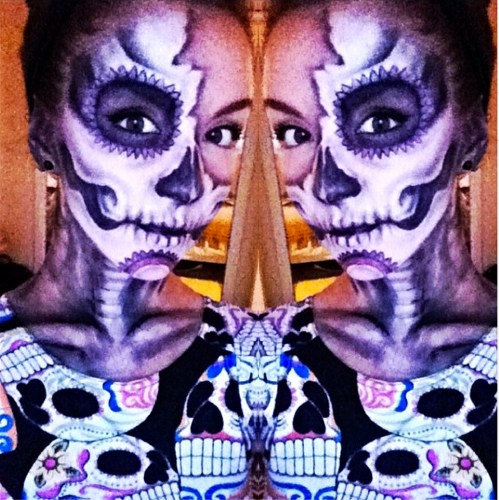 Mexican Day Of The Dead By Elliemchand57
