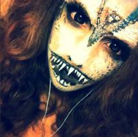 mermaid hybrid makeup! by Elliemchand57