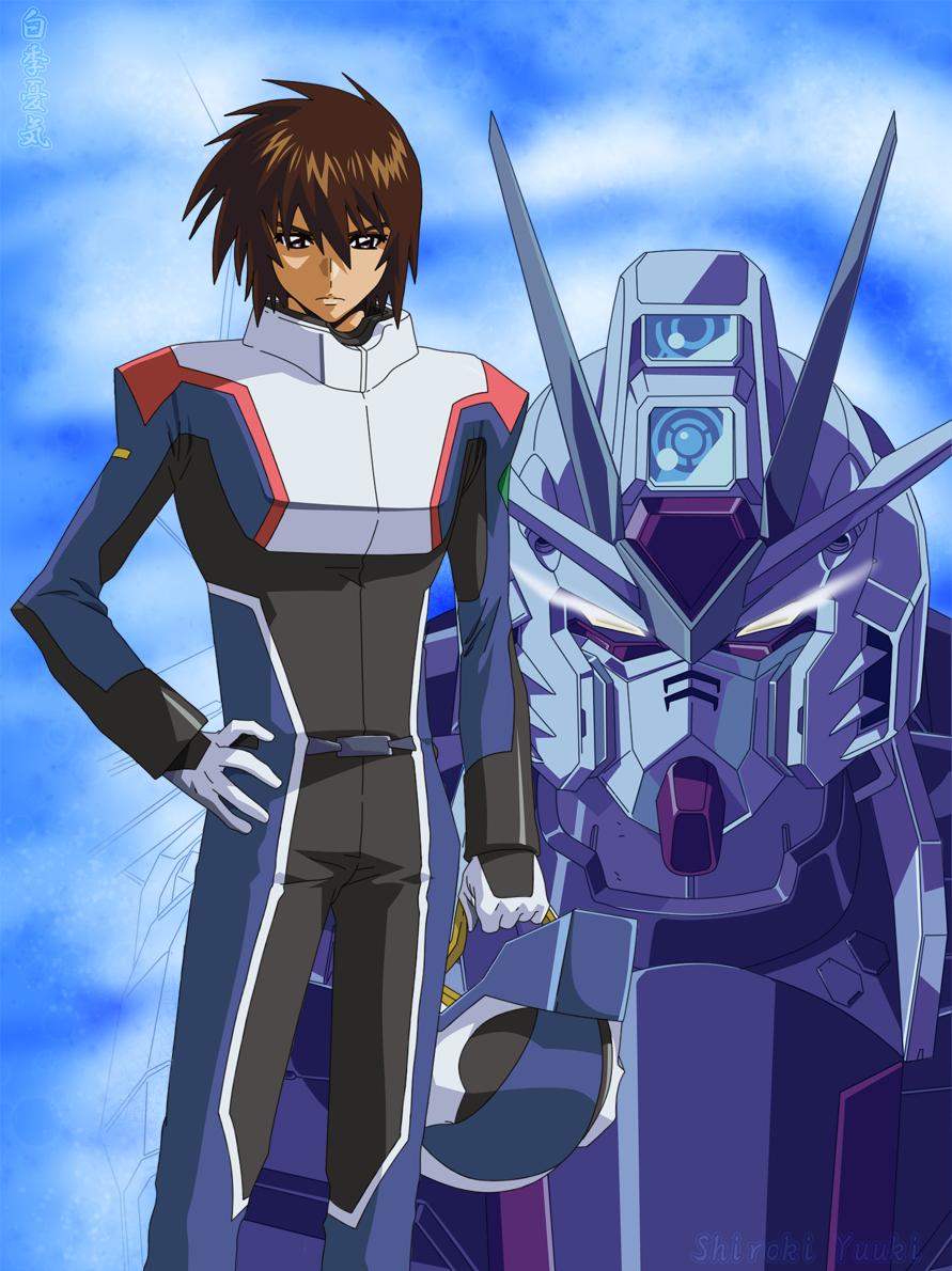 Kira Yamato Gundam wallpapers, Gundam, Gundam seed