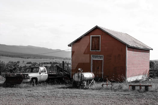 The Old Red Barn
