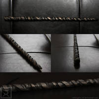 Horntwist Wand by mistergrinn