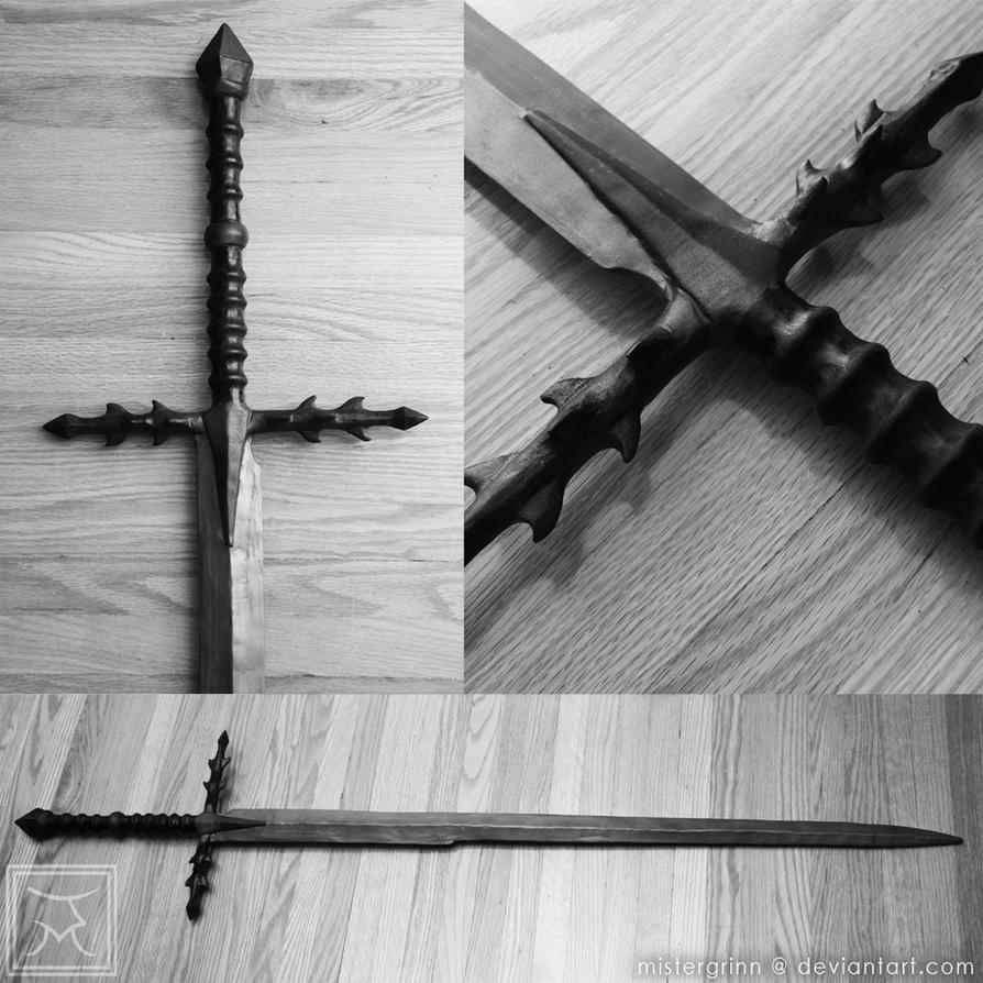 ACI LOTR: Ringwraith - Ringwraith Sword (Metal) w/ Scabbard - Toy ...