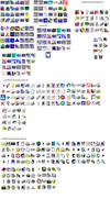 Windows 95 icons moricons.dll and pifmgr.dll
