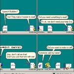 *.Icons webcomic no. 3 - Speech Bubbles by Wrim