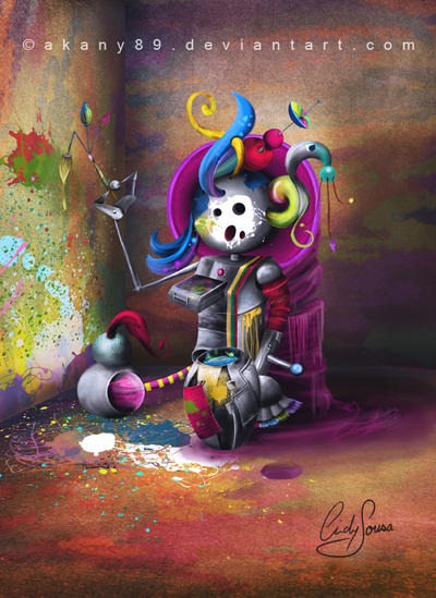 Painting Puppet by Akany89