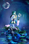 Bubble Lady by Snolif