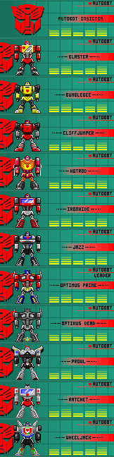 Autobots Updated[10-18-12][Pixel Heroes]