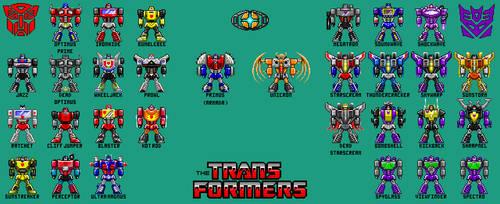 Pixel Hero Transformers Update [2-27-16]