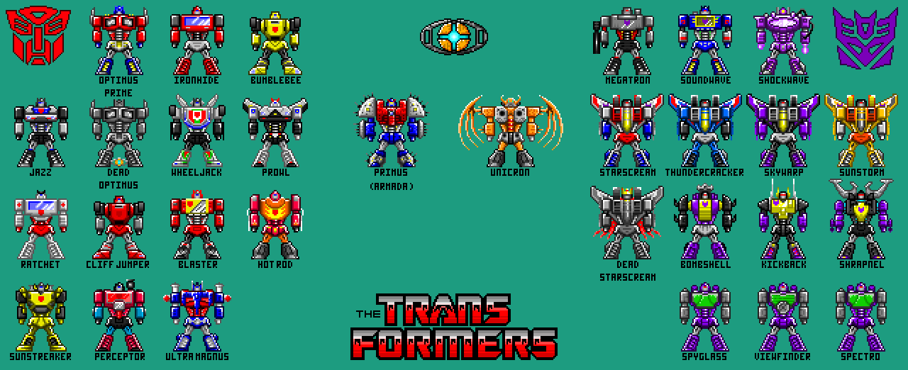 Pixel Hero Transformers Update [2-27-16] by THX1138666