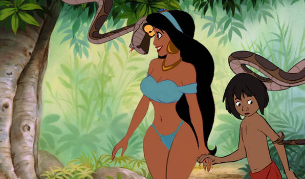 Jungle Book: Three's A Crowd