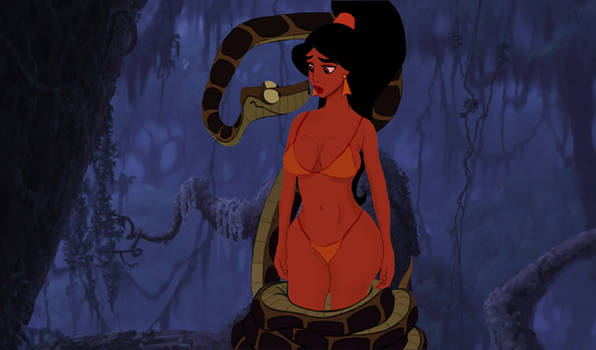 Kaa and Jasmine: Subtle Squeezy Ways