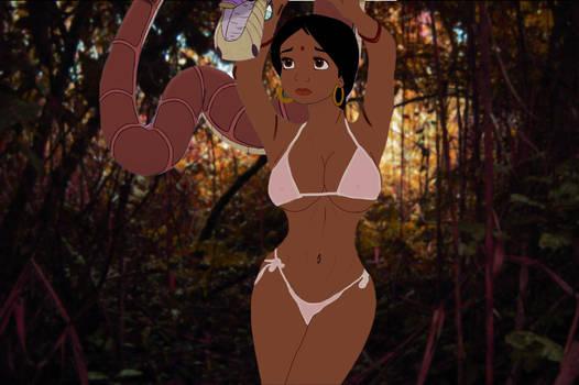 Shanti and Kaa's 2nd encounter