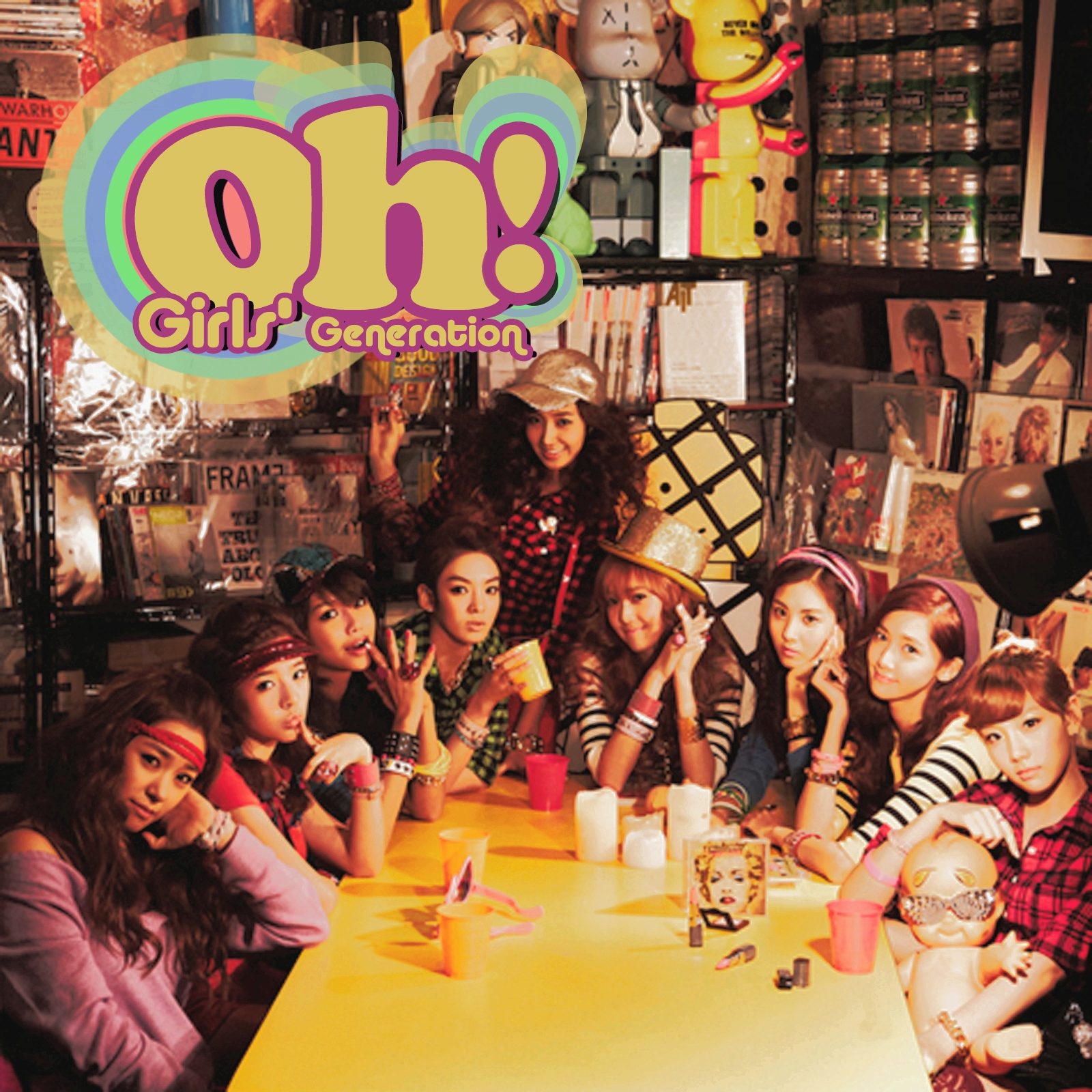 1080p] Girls' Generation (SNSD) - Oh! (오!) - YouTube