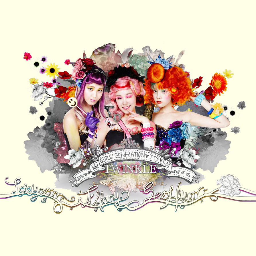 girls generation snsd taetiseo tts twinkle by