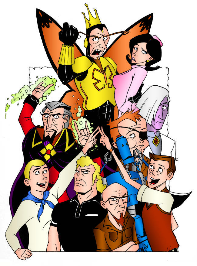 venture brothers coloring pages - photo#23