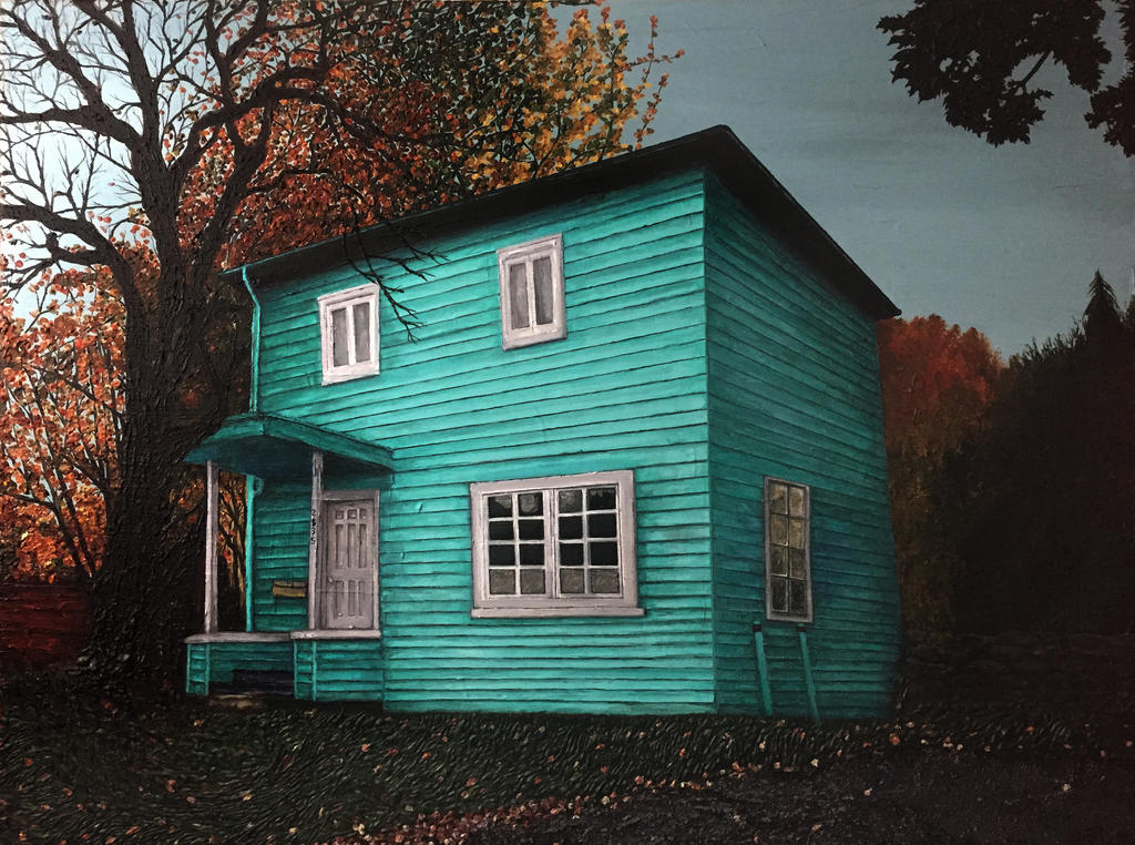 The Blue House (2017) by ericzone