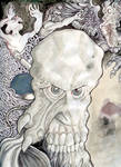 Demon Skull Monster Head