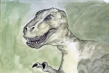 T-Rex head (2019)