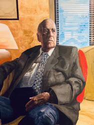 Jean-Charles Bedard painting (2019)