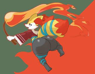 Flame by Vammzu