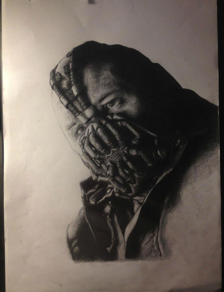Bane portrait in progress. by JimOfRapture on DeviantArt