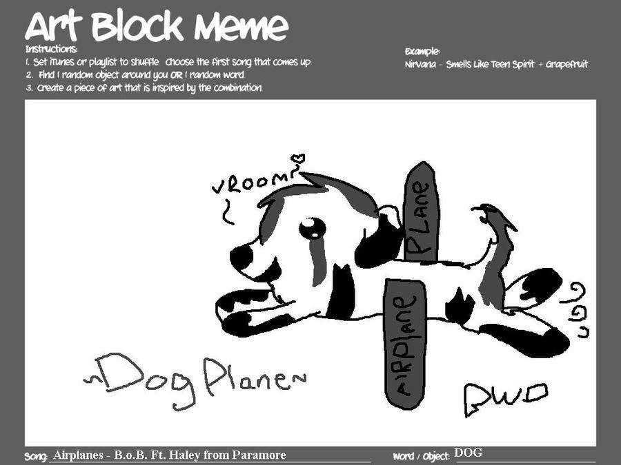 ArtBlock MeMe by britishweinerdog