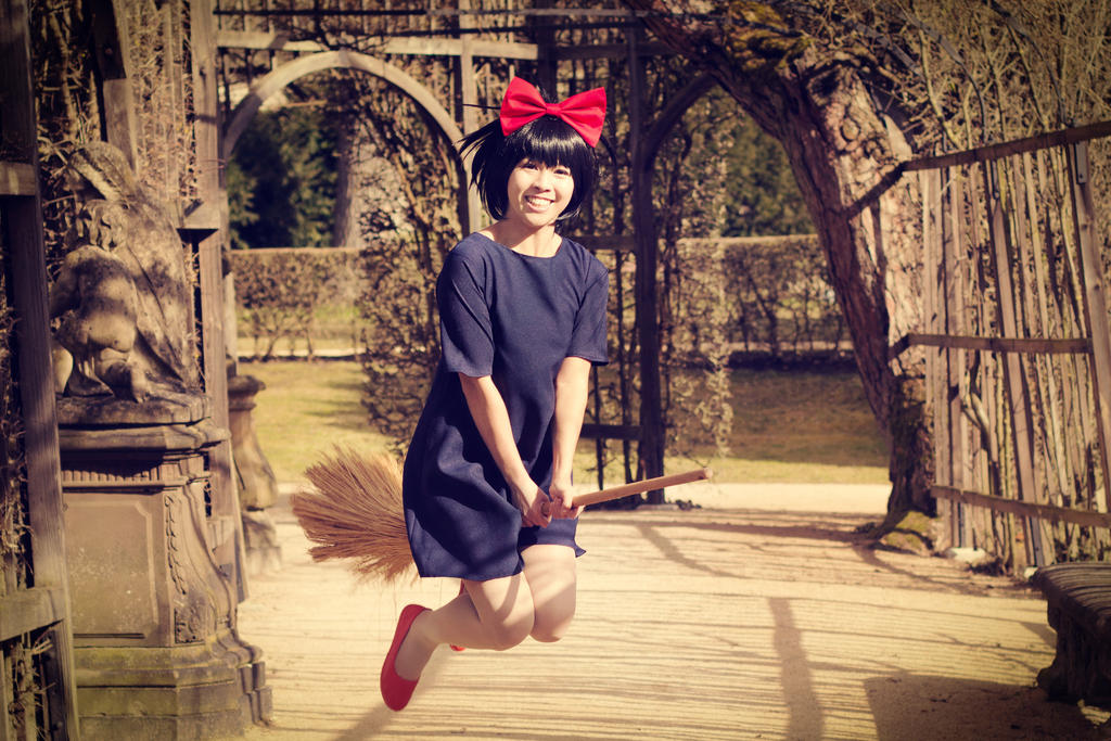 Kiki . Fly with your spirit! by kazenary