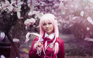 Inori Yuzuriha . The blooming wild flower by kazenary
