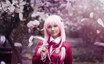 Inori Yuzuriha . The blooming wild flower